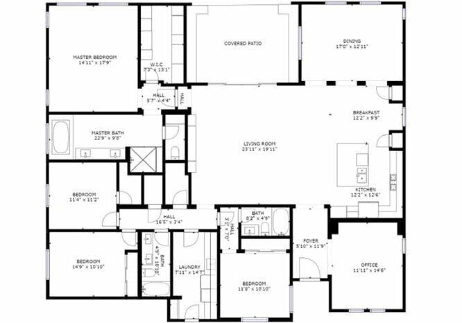 Las Vegas Home Floorplan using Matterport 3d Scan Technology